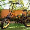 Eco-motori bicicletta elettrica fat pieghevole