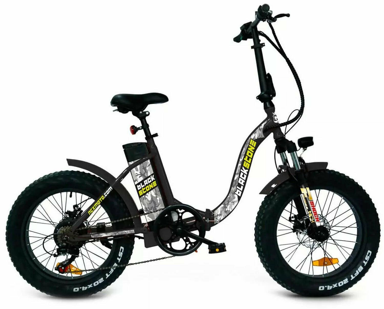 NCX BLACKSTONE Bicicletta elettrica pieghevole fat bike ...
