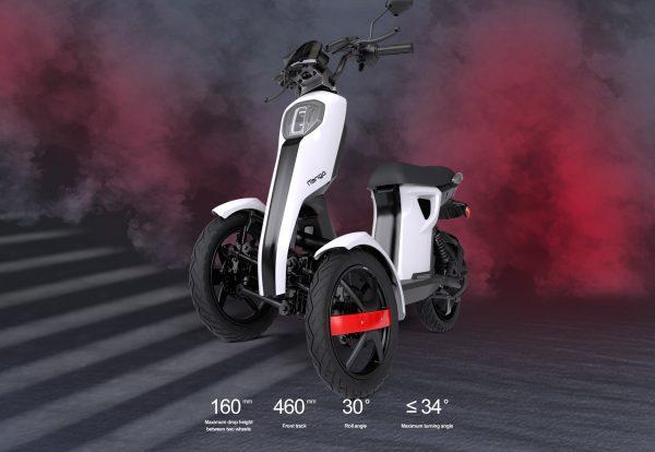 Scooter elettrico Doohan Itango