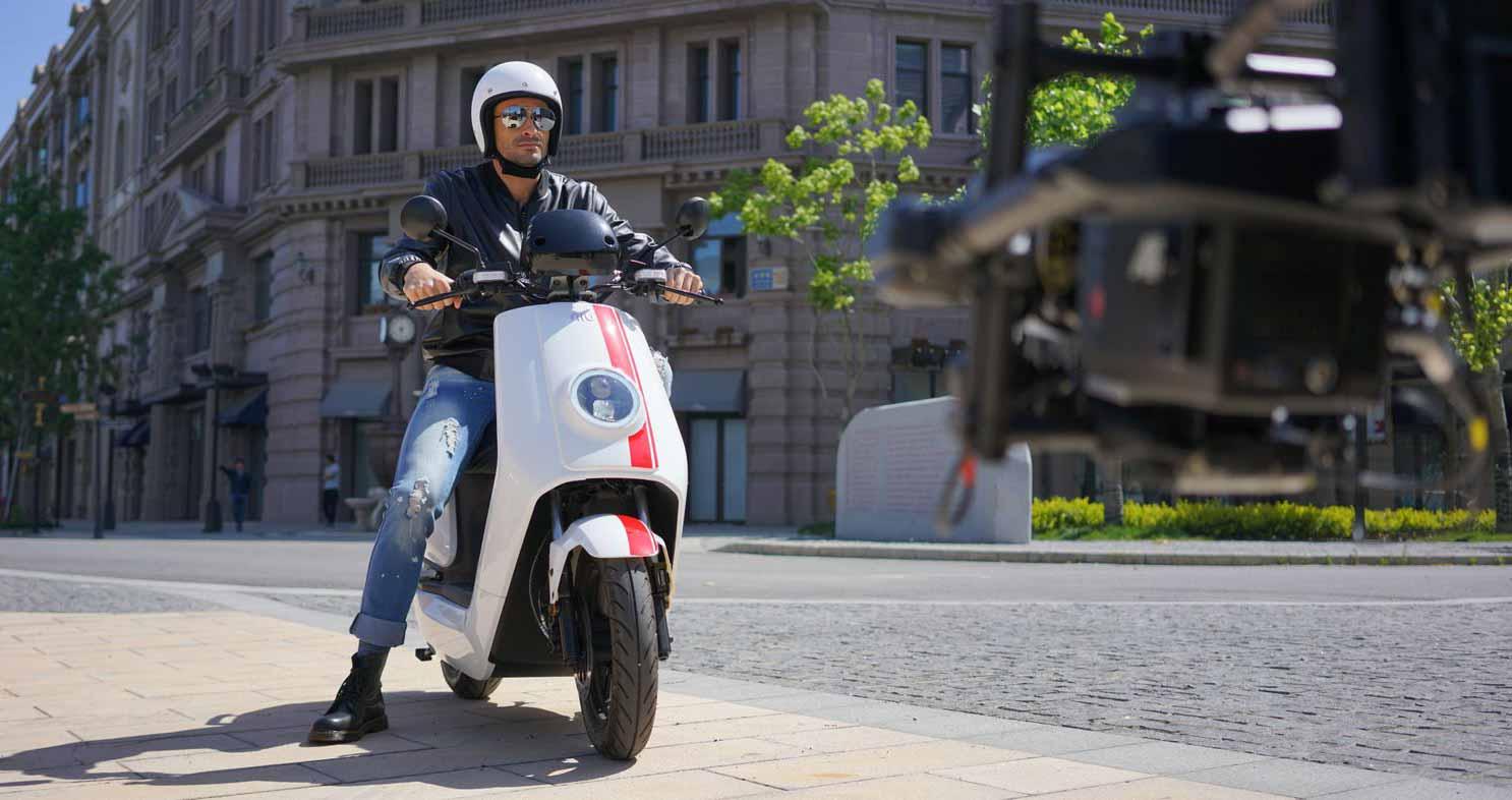 Scooter elettrici NIU, NIU NQi GTs Pro